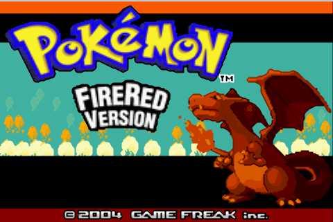 Pokémon fire red rom gba