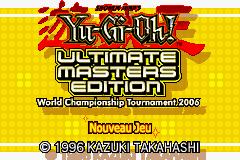 yu gi oh ultimate masters 2006 gba:
