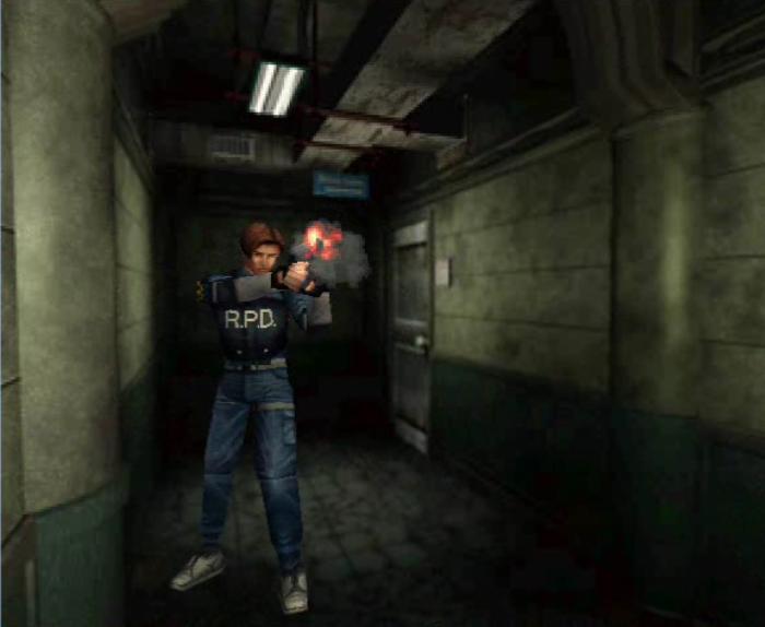 Living Room Resident Evil