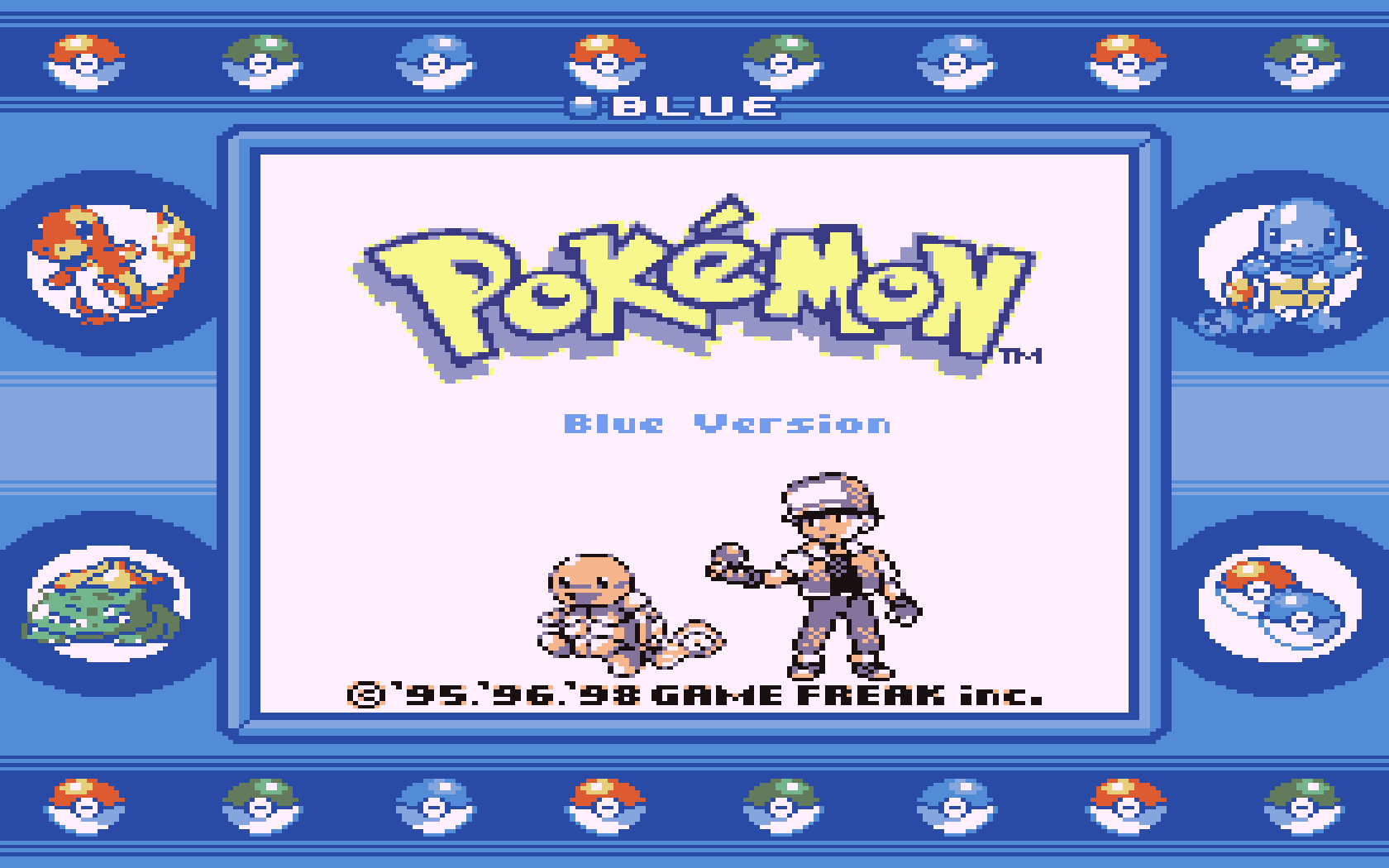 Image result for pokemon blue