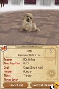 Nintendogs - Best Friends (U)(Trashman) Screen Shot