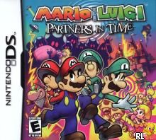 Mario & Luigi - Partners in Time (U)(SCZ) Box Art