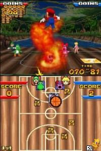 Mario Hoops 3 on 3 (U)(Legacy) Screen Shot