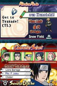 Naruto - Ninja Council 3 (U)(XenoPhobia) Screen Shot