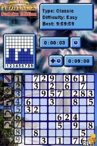 Ultimate Puzzle Games - Sudoku Edition (U)(SQUiRE) Screen Shot