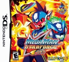 MegaMan Star Force - Leo (U)(XenoPhobia) Box Art