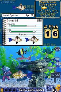 Fish tycoon u sir vg rom for Fish tycoon 2 guide