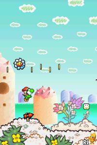 Yoshi's Island DS (K)(AC8) Screen Shot