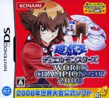 Yu-Gi-Oh! Duel Monsters - World Championship 2008 (J)(6rz) Box Art
