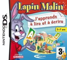 Lapin Malin - J'Apprends a Lire et a Ecrire (F)(DSRP) Box Art