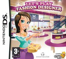 Let's Play Fashion Designer (E)(EXiMiUS) Box Art