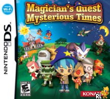 Magician's Quest - Mysterious Times (US)(M3)(XenoPhobia) Box Art