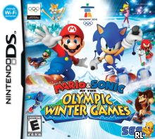Mario & Sonic at the Olympic Winter Games (US)(M3)(XenoPhobia) Box Art