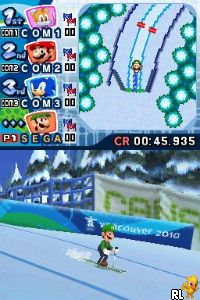 Mario & Sonic at the Olympic Winter Games (US)(M3)(XenoPhobia) Screen Shot
