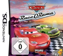 Cars Race-O-Rama (EU)(M2)(EXiMiUS) Box Art