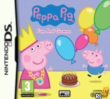 Peppa Pig - Fun and Games (E) Box Art