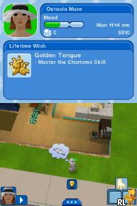 Sims 3, The (DSi Enhanced) (E) Screen Shot