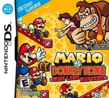 Mario vs. Donkey Kong - Mini-Land Mayhem! (v01)(DSi Enhanced) (U) Box Art