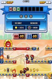 Mario vs. Donkey Kong - Mini-Land Mayhem! (v01)(DSi Enhanced) (U) Screen Shot