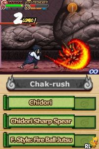 Naruto Shippuden - Shinobi Rumble (U) Screen Shot