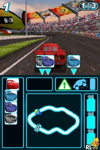 Cars 2 (DSi Enhanced) (U) Screen Shot