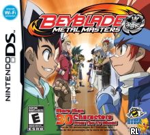 Beyblade - Metal Masters (U) Box Art