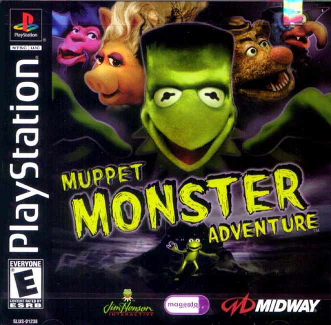 Rom PS1 Muppet Monster Adventure High Compress - Index